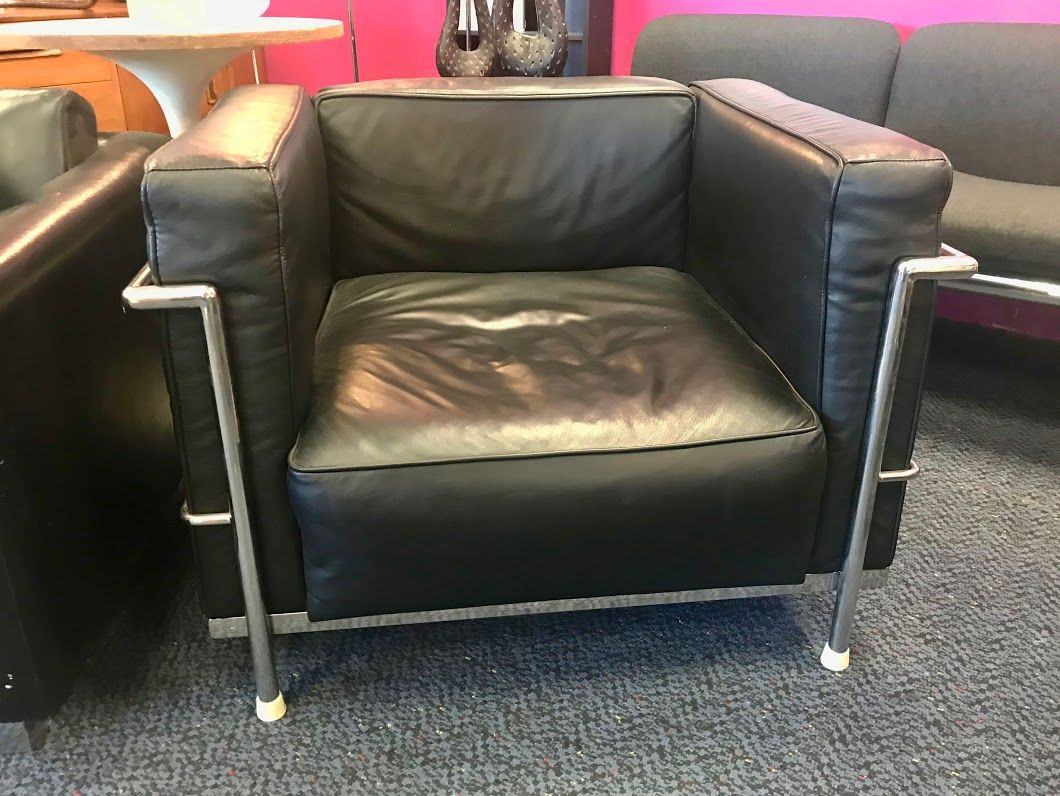 Ordinaire Italian Leather And Chrome Chair $600 Dealer #81 Top Drawer Antiques U0026 Mid  Mod Shop