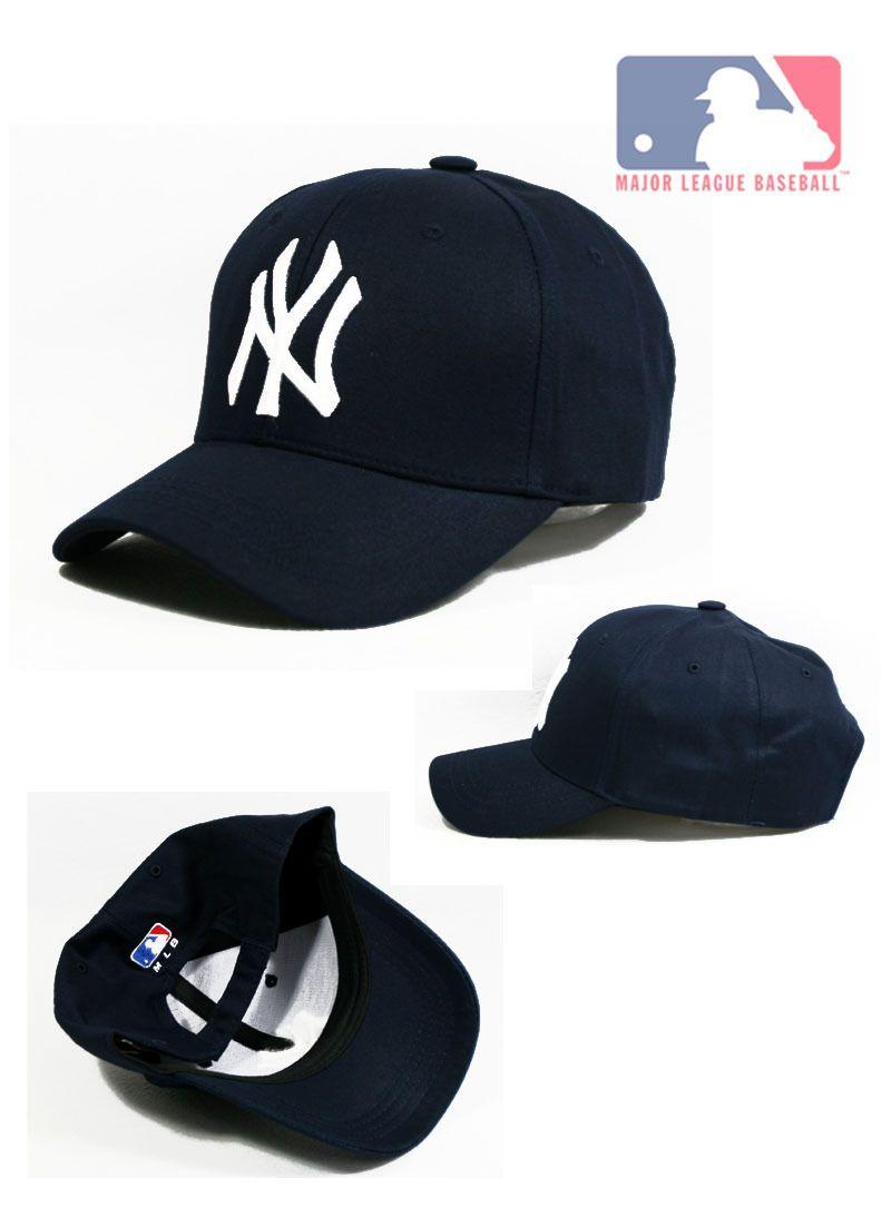 Ny22 Velcro Closure Dark Blue New York Yankees Baseball Cap White Team Logo New Yankees Baseball Cap New York Yankees New York Yankees Baseball