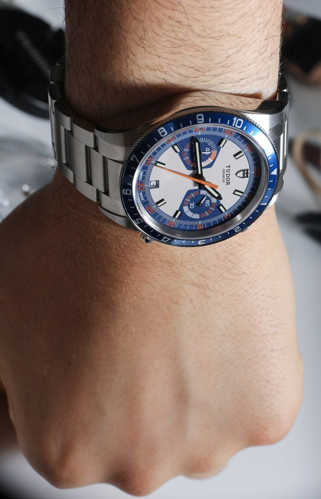 Tudor Heritage Chrono Blue Watch Review - Page 3 of 3 | aBlogtoWatch  $4,200