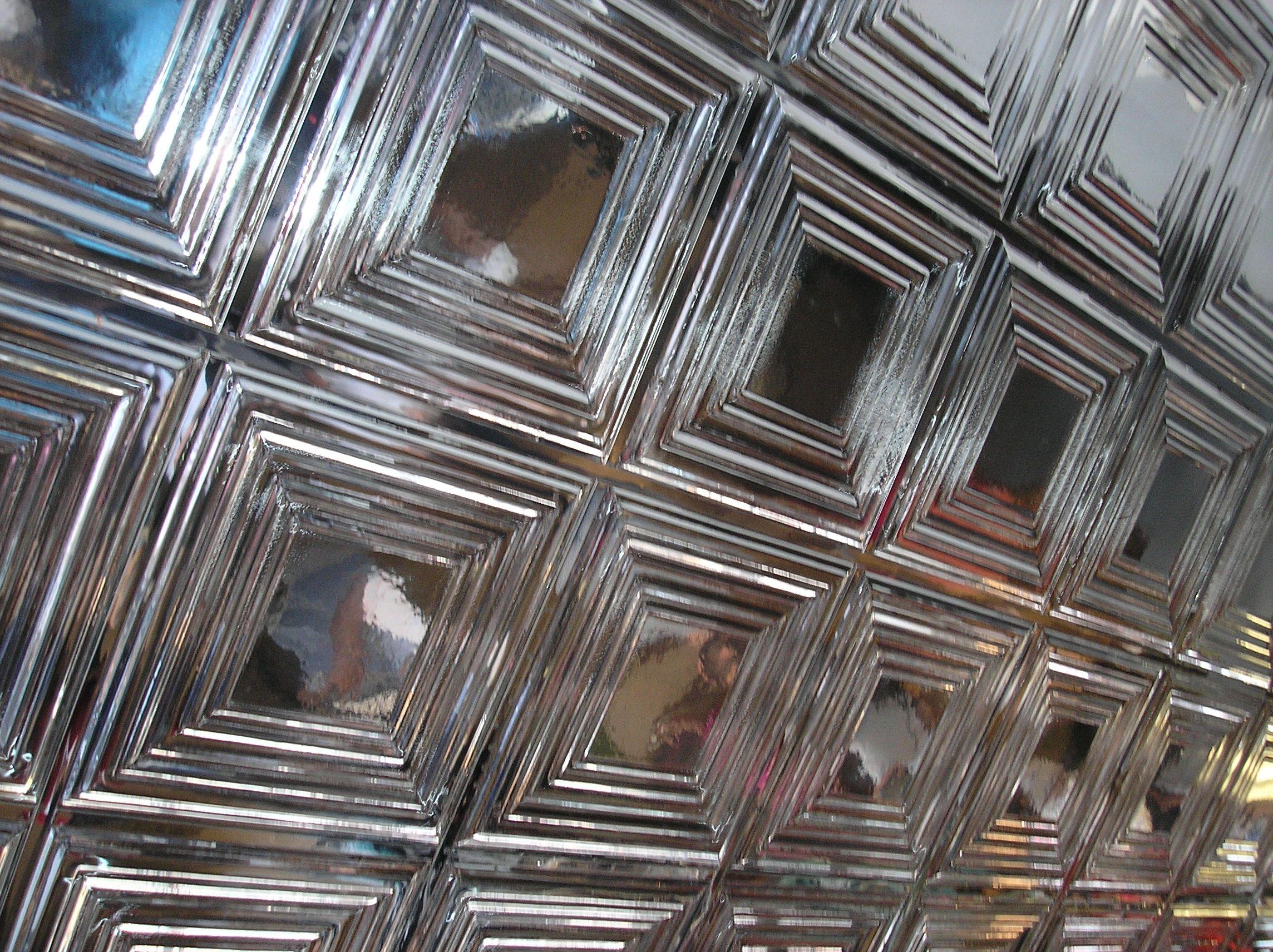 Empire mirror ceiling tiles