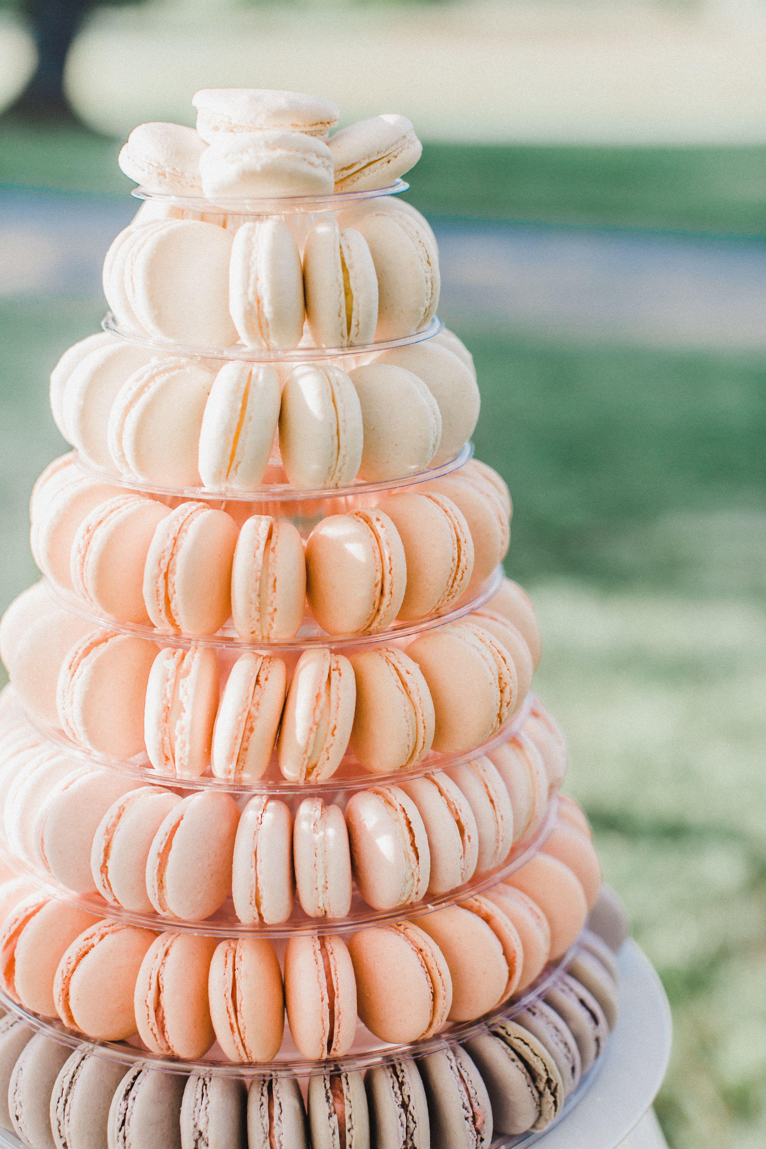 French Macaron Wedding Cake Ombre Macarons Wedding Macarons Wedding Cake Alternatives Macaroons Wedding