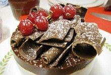 Souflé Frio de Chocolate e Avelãs