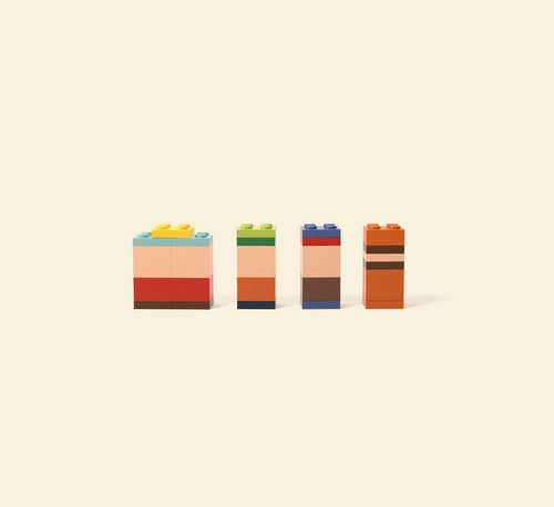 Campaign for Lego created by Jung von Matt. Using bricks to recreate ...