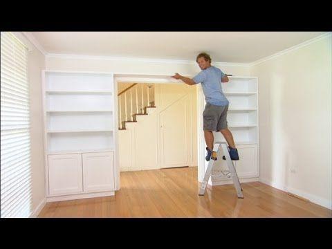Cabinets Around Door & | Source: pezcame.com · Rob Has Come Up With - Built In Bookshelves Around Doorway IDI Design