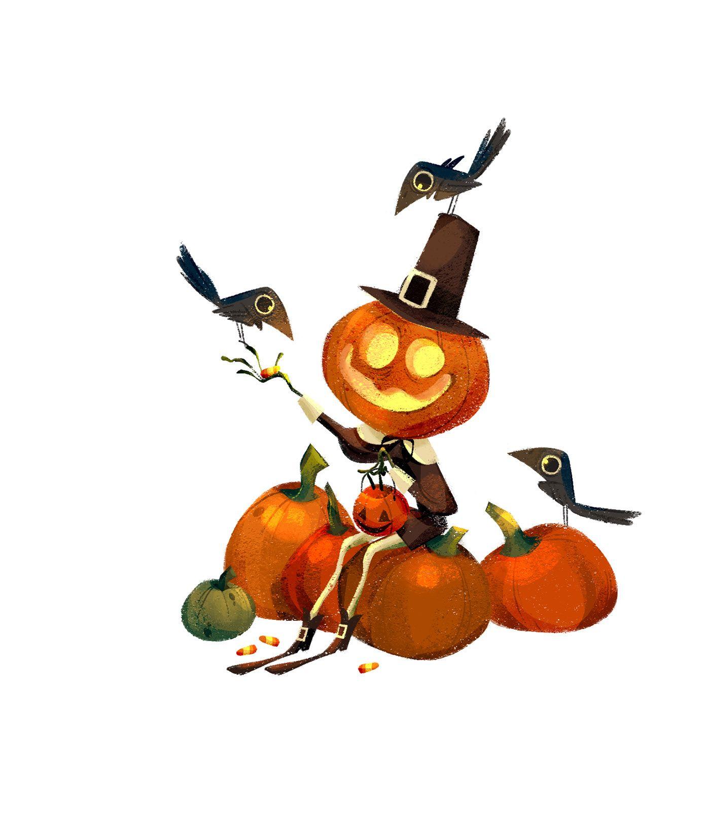 Halloween on Behance in 2020 Graphic design illustration