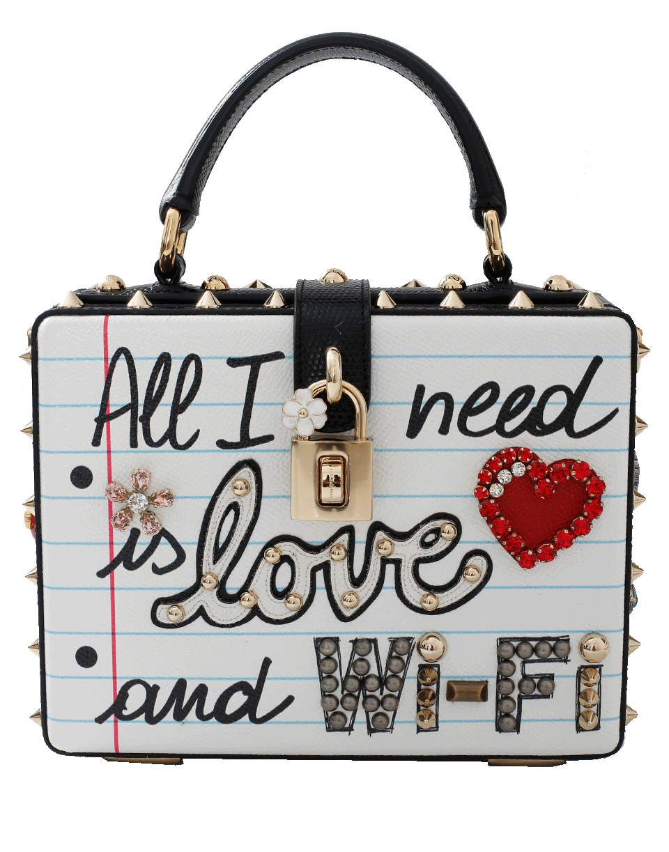 DOLCE   GABBANA All I Need Is Love And Wifi Bag.  dolcegabbana  bags   shoulder bags  hand bags  accessories  cardholder   2e5b3efeb4905