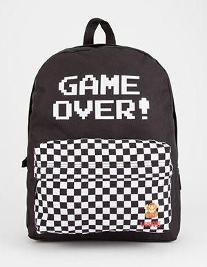 e65df6d5f2d VANS x Nintendo Game Over Backpack Black | Kiddo Inspiration | Vans ...