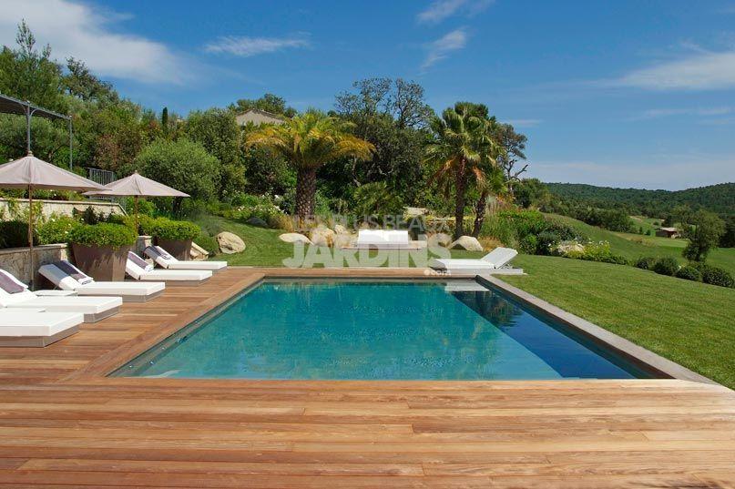 Résultats de recherche d\'images pour « idée piscine dans un jardin ...