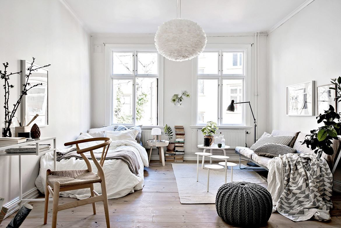 Studio apartment | dec | Pinterest | Studio apartment, Apartments ...