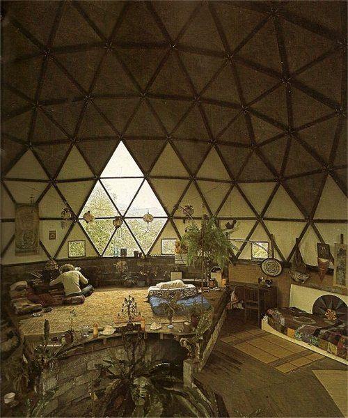 Hippie Huis, Geodetische Koepel