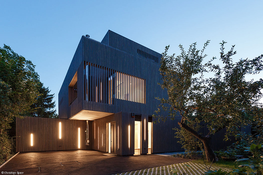Image 11 Of 15 From Gallery Of House D / Caramel Architekten + Günther  Litzlbauer. Photograph By Christian Sperr