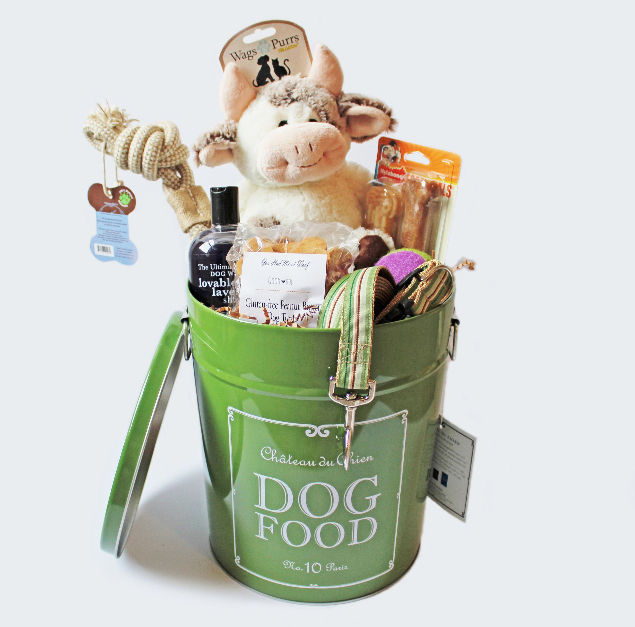 Farm Inspired Dog Gift Basket From You Had Me At Woof Lover Gifts Puppy
