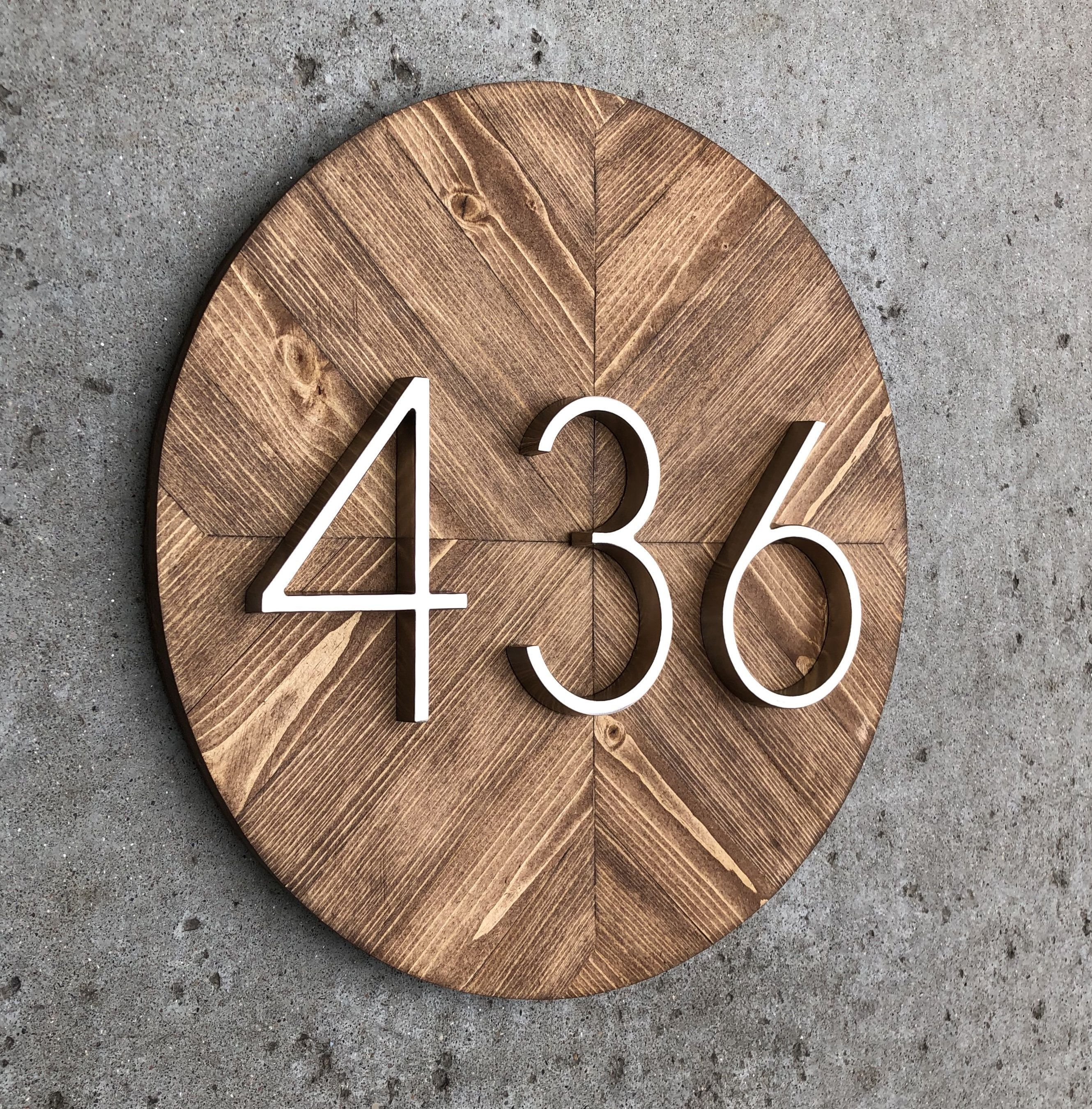 This Item Is Unavailable Modern House Numbers Sign House Numbers Diy House Number Plaque