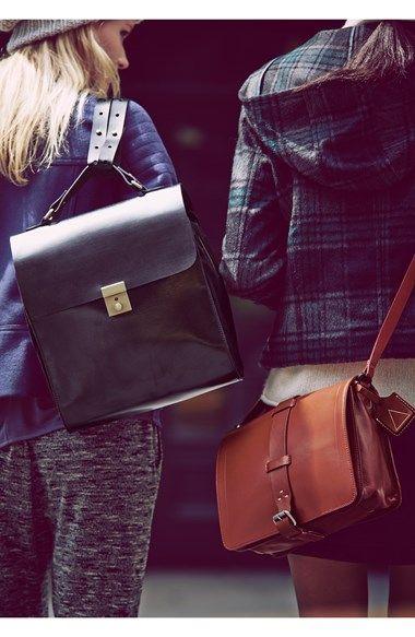 b15b8651f975 Kelsi Dagger Brooklyn  Courier  Leather Crossbody Bag