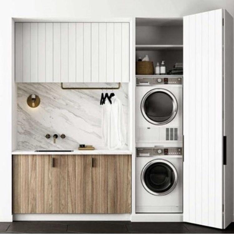 Pin Van Hela Ben Ayed Op Laundry Kleine Wasruimtes Linnenkast Wasruimte Design