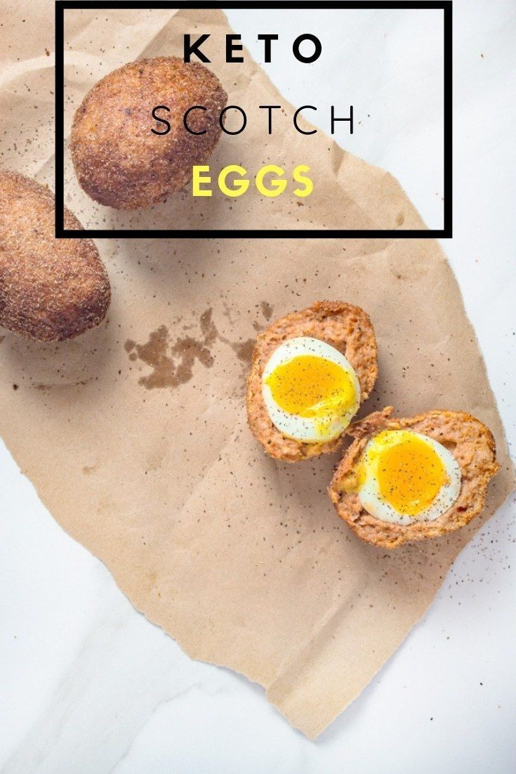 Keto Scotch Eggs | Paleo Friendly Recipe - Broke foodies