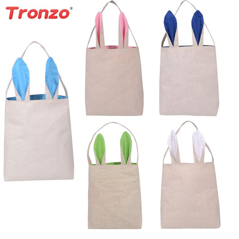 Tronzo easter decorations for home bunny ear gift bags funny cute tronzo easter decorations for home bunny ear gift bags funny cute easter rabbit birthday party supplies negle Image collections