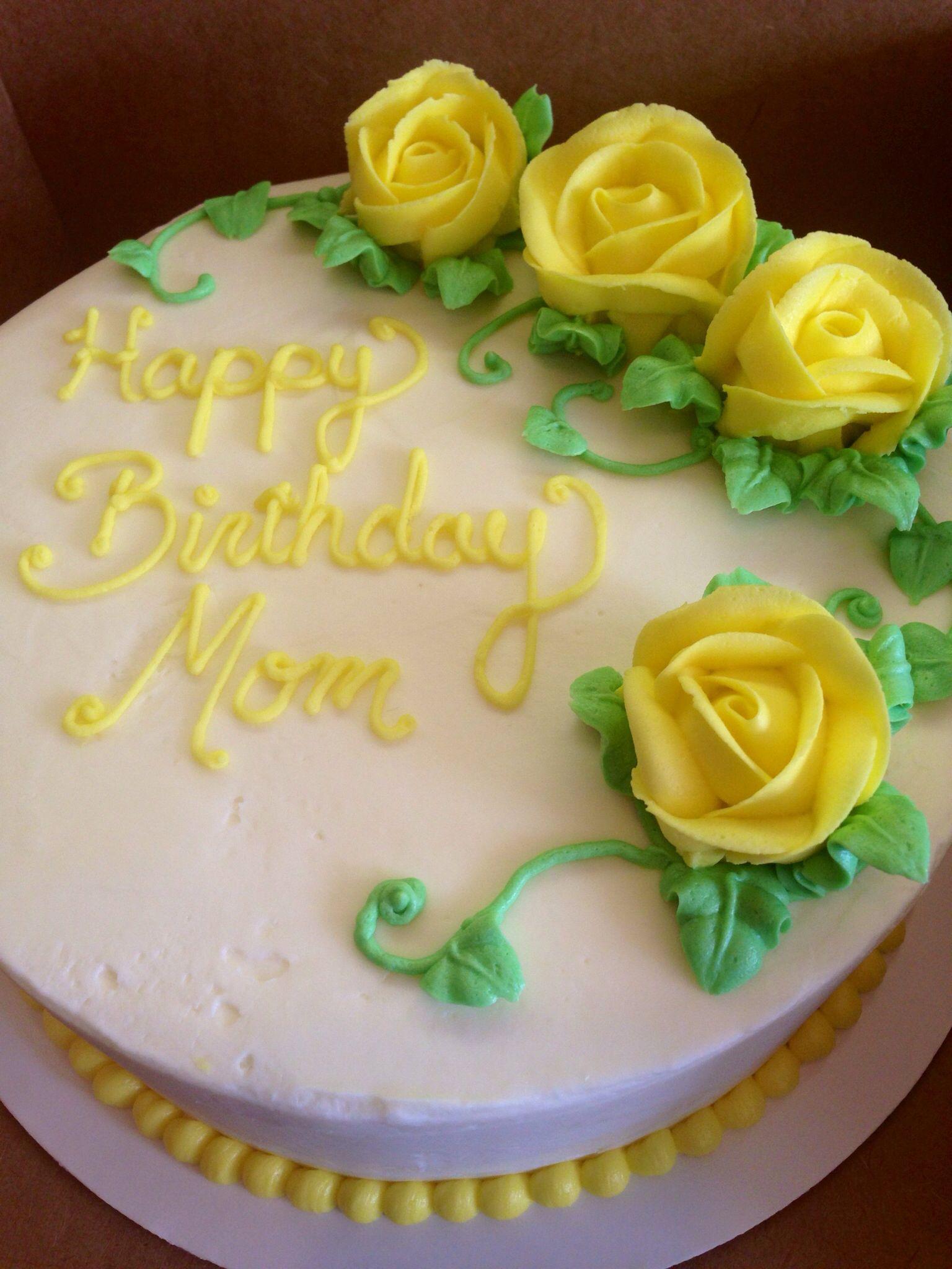Pin By Wendy Schay On Cakes I Ve Made W Schay Happy Birthday Cakes For Women Happy Birthday Mom Cake Fondant Cakes Birthday