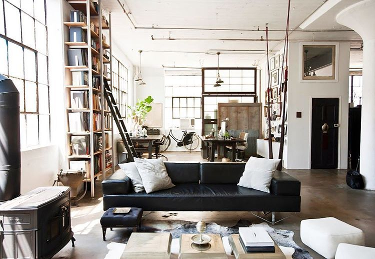 Shelves and ladders