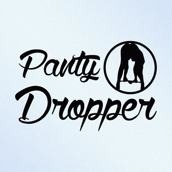 Panty dropper funny jdm vinyl decal sticker