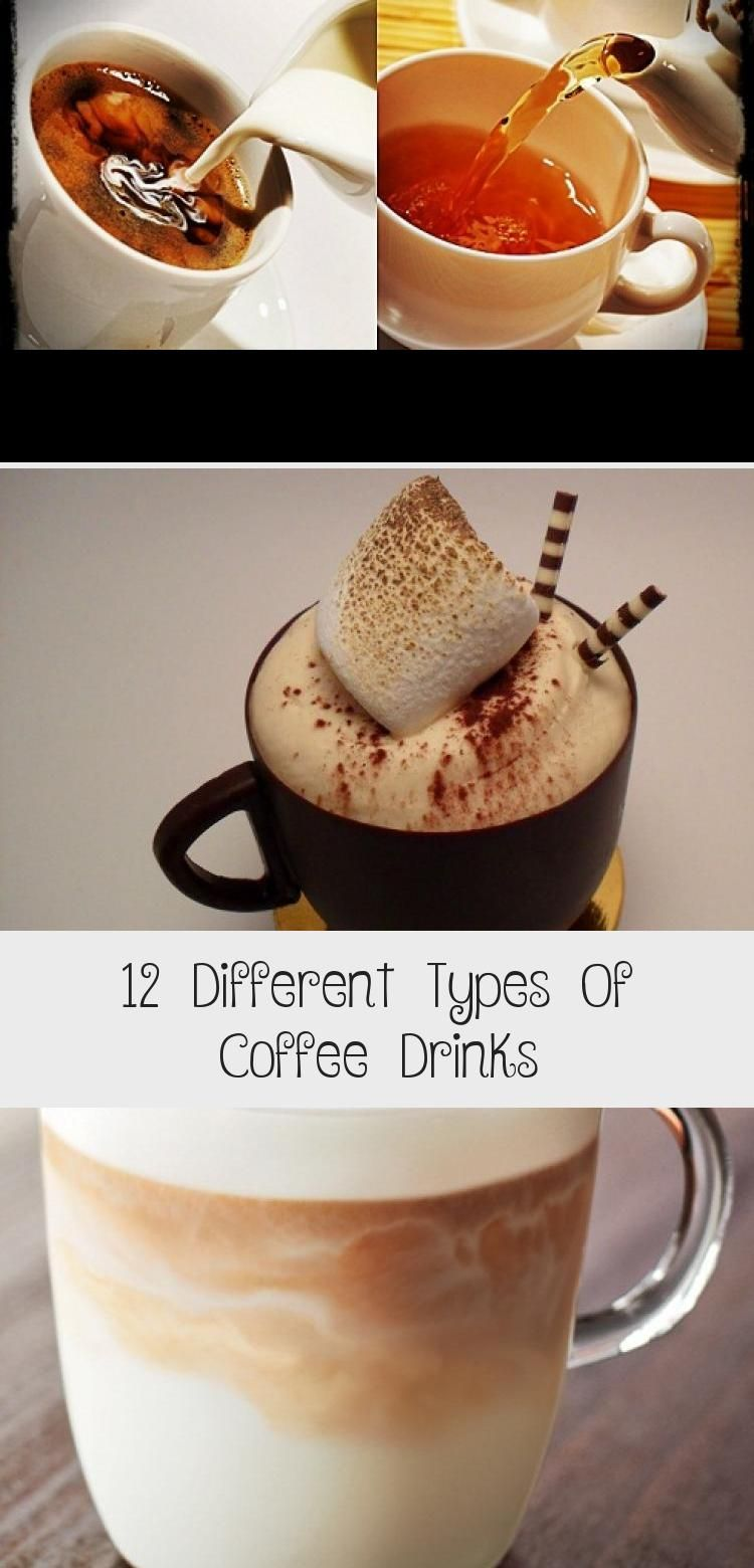 12 Different Types Of Coffee Drinks in 2020 Coffee type