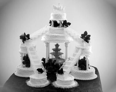 wedding cakes with stairways Wedding Cake With Stairs wedding