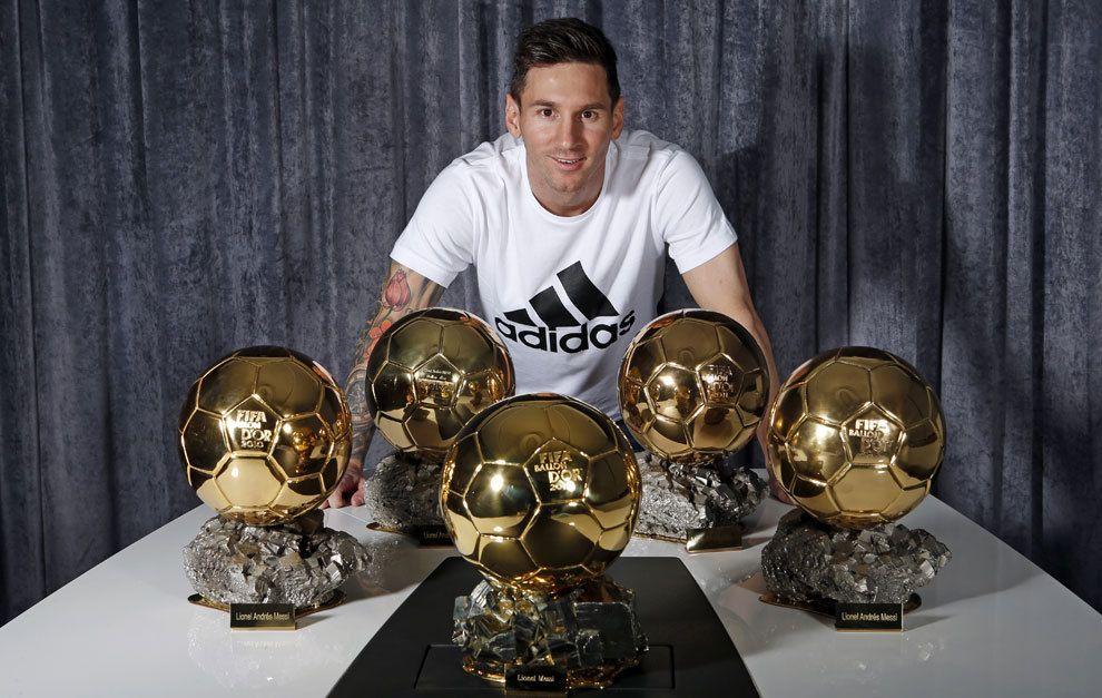 Messi Y Los Cinco