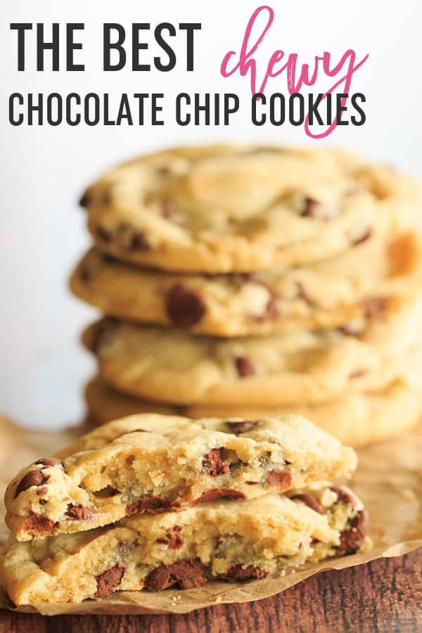 These are the BEST Chocolate Chip Cookies They are soft chewy and loaded with chocolate chips You will never need another chocolate chip cookie recipe