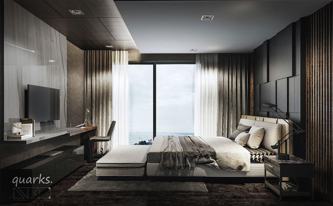 Master Bedroom Design By Atta Ia 3D Visualiser  Quar On Behance Best Bedroom Design Online 3D Review