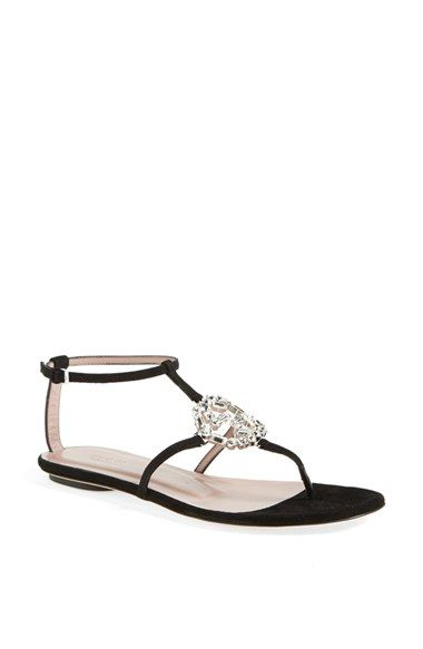 51da476ff Gucci 'GG' Crystal Thong Sandal available at #Nordstrom   summer ...