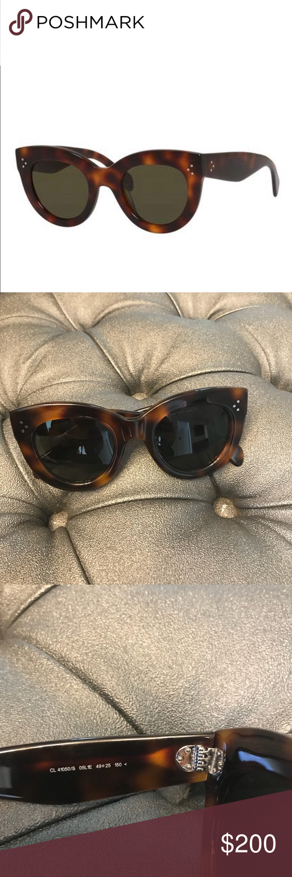 ceab7cb31275f Celine Havana Sunglasses A stalwart of the Celine sunglasses collection