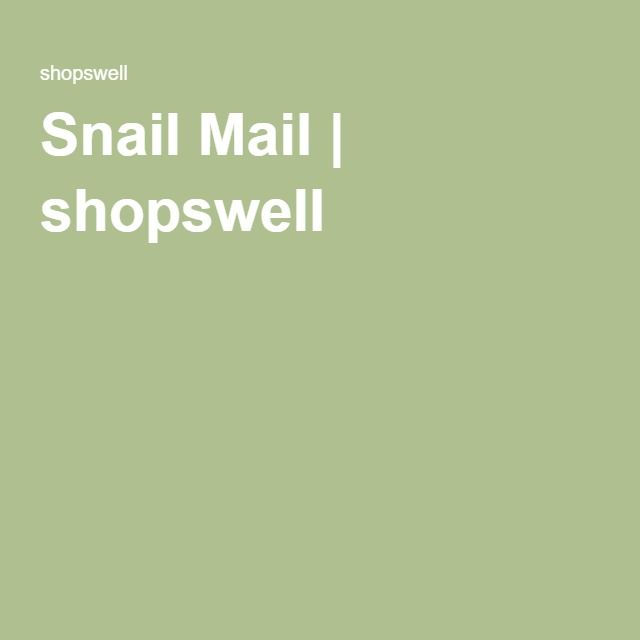 Snail Mail | shopswell