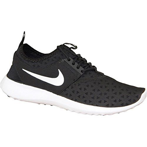 NIKE Women's Juvenate Sneaker, Black/White, 5.5 B US