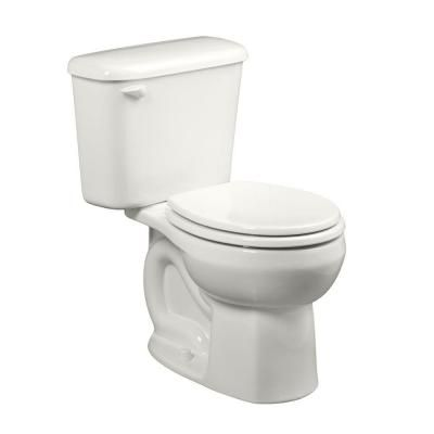 American Standard Colony 10 In Rough In 2 Piece 1 28 Gpf Single Flush Round Toilet In White Seat Not Included 221db104 020 American Standard Toilet Mediterranean Homes