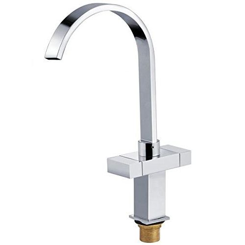Square Modern Double Lever Kitchen Sink Mixer Tap Sink Mixer Taps Kitchen Fixtures Kitchen Faucet