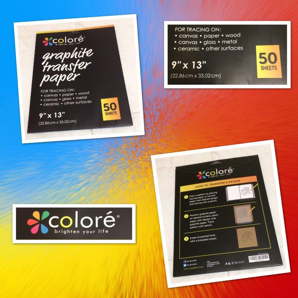 Colore provisible graphite transfer artist paper 9 x 13