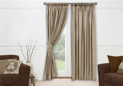 Empoli Warm Taupe Curtains - create a natural and neutral atmosphere in your home that will have you feeling cosy and comfortable all year round. #curtains #velvet
