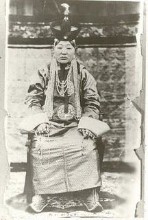 Dondogdulam, last Queen-Mother of Mongolia and queen of 8th Bogd Khaan-last theocratical ruler of Mongolia, before the People's Revolution in 1921