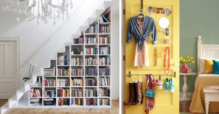 20 incre bles soluciones para aprovechar el espacio de tu for Habitaciones pequenas aprovechar espacio