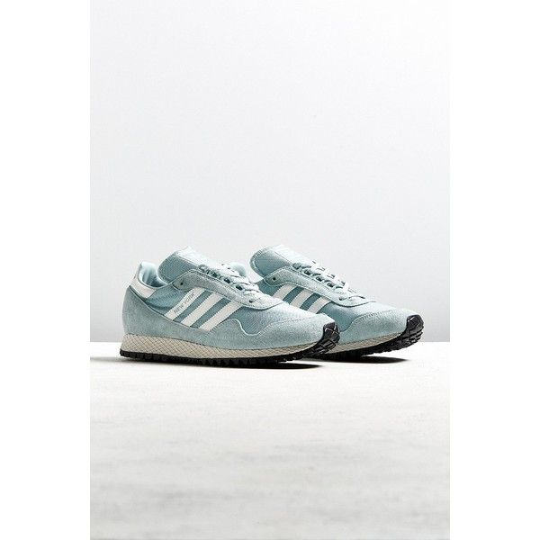 huge discount 86a36 7b278 adidas New York Green Sneaker ( 100) ❤ liked on Polyvore featuring men s  fashion,
