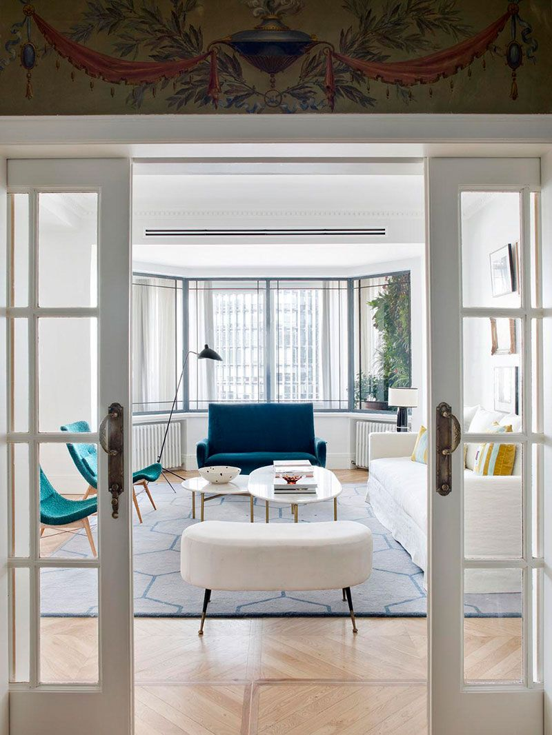Eclectic apartment with paintings and fireplace in madrid pufik beautiful interiors online magazine