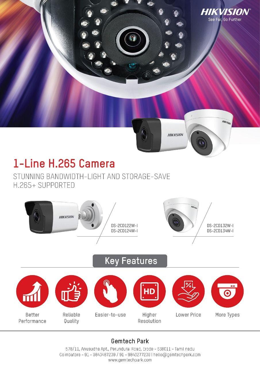 Gem Tech Park Hikvision Outdoor Cctv Cameras In 2020 Cctv Camera Camera Home Automation