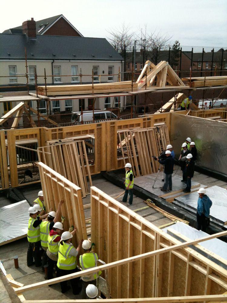 Madrid Street Belfast - Tyrone Timberframes | Timber Frame Homes in ...