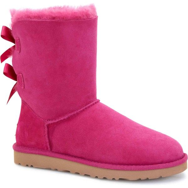 ugg australia women s bailey bow red violet boots 160 liked on rh pinterest co uk
