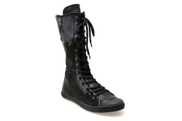 Bottes Pataugas Blase Noir Chaussures Femme Scarpe