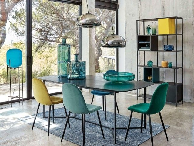 10 Conseils Pour Adopter Le Velours Velours Dining Dining Room