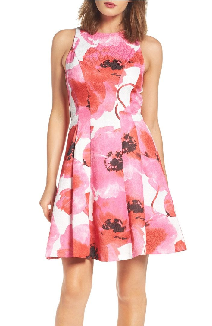Spring is all about bold floral prints on classic dress silhouette\'s ...