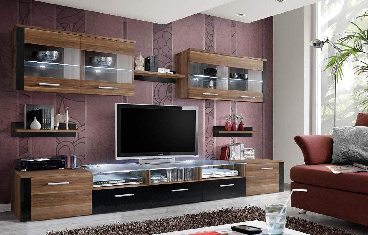 Parete attrezzata soggiorno moderna panama pareti - Soggiorno parete attrezzata moderna ...