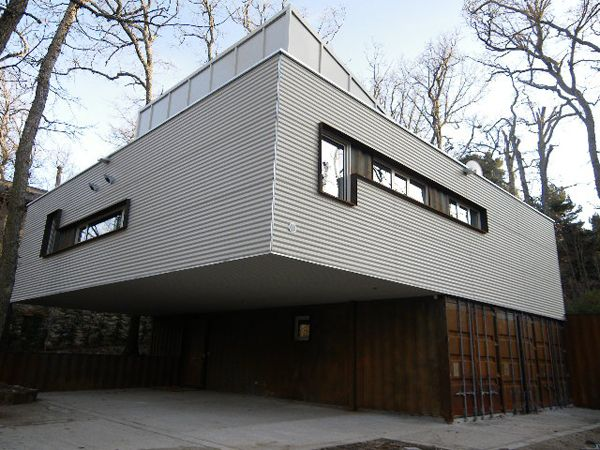 Pin de manu gonzalez en bunker houses casas contenedores y modulares - Vivienda contenedor maritimo ...