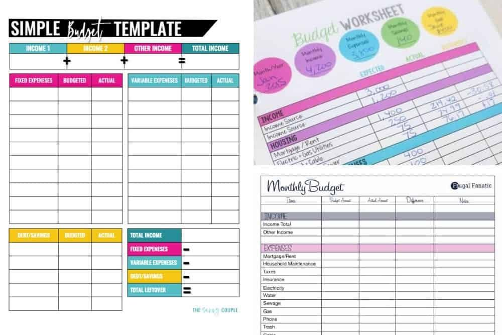 10 Free Budget Templates That Will Change Your Life Budget Planner Template Budget Template Budget Template Free